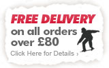 Free Delivery on all orders over £80