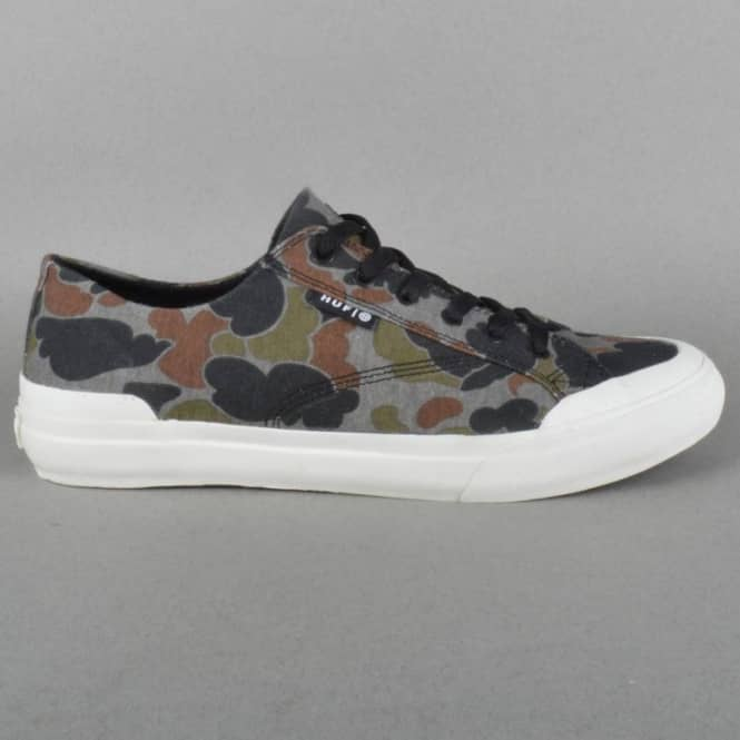Classic Lo Skateboard Shoe - Grey Duck Camo