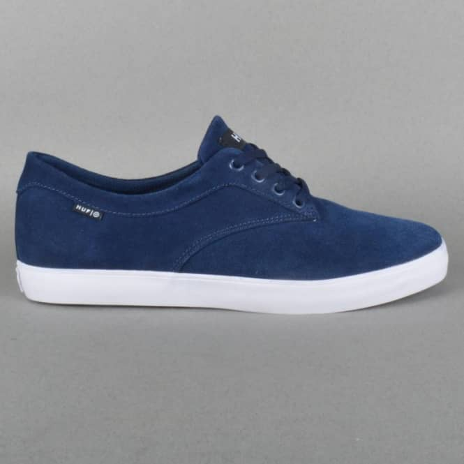 Sutter Skateboard Shoes - Navy Suede