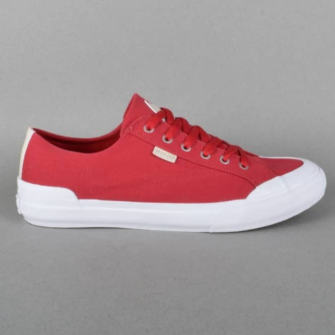 Classic Lo Canvas Skateboard Shoes - Crimson