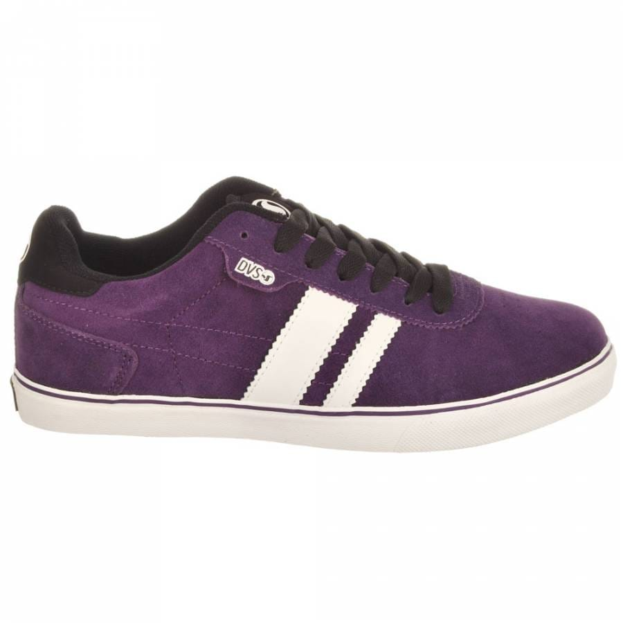 dvs milan2 ct purple suede mens skateboard shoes from