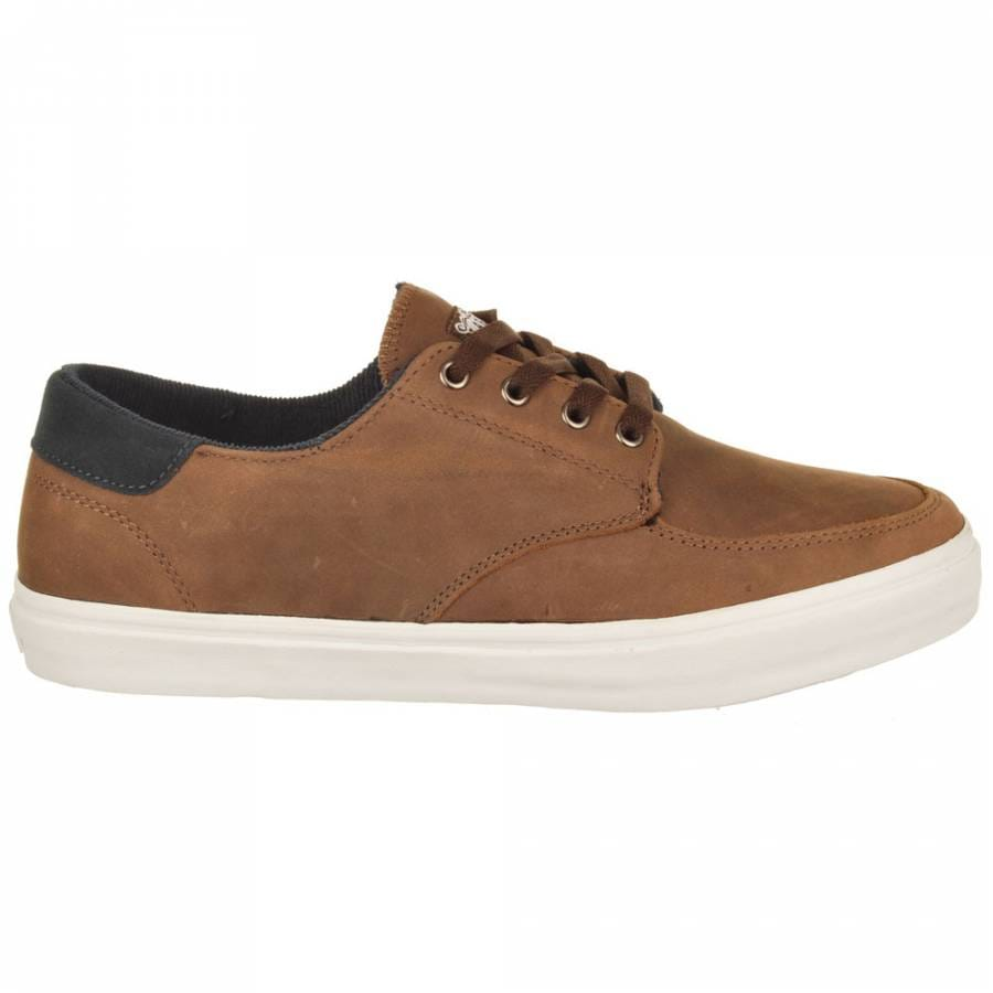 lakai belmont skate shoes brown leather mens