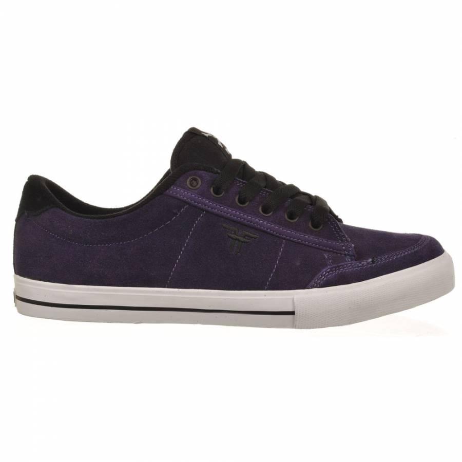 fallen bomber dk purple black skate shoes mens