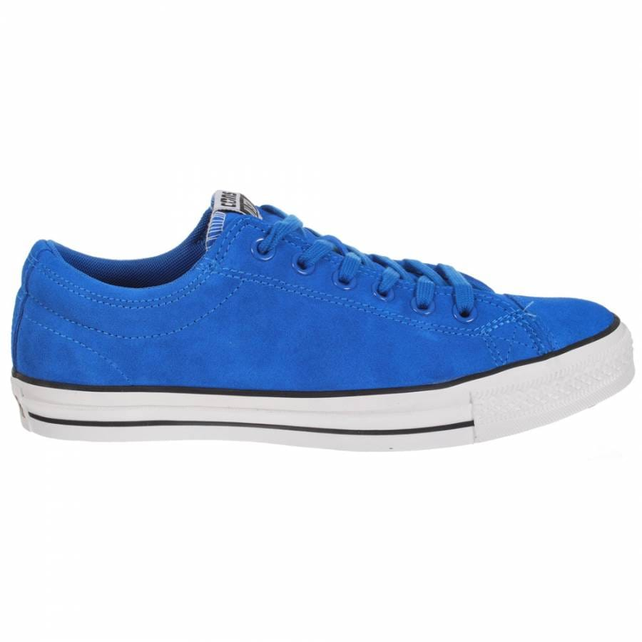 Converse Cons CTS OX Blue/White/Black Skate Shoes - Mens ...