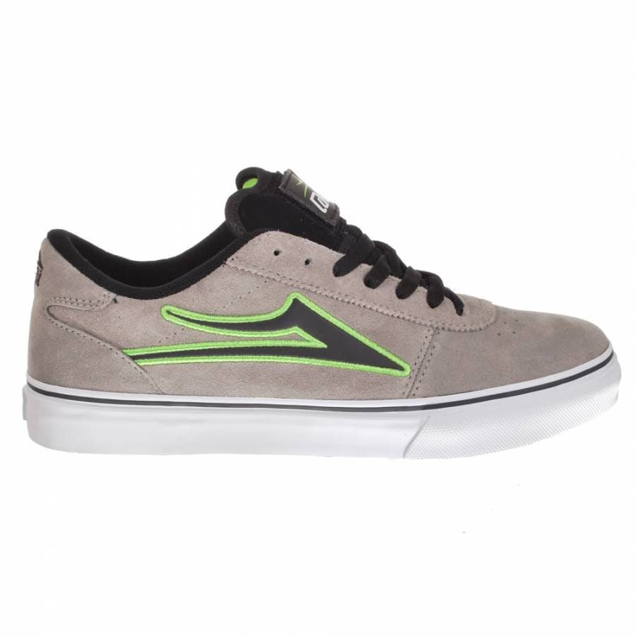 lakai manchester select skate shoes grey suede patch kit