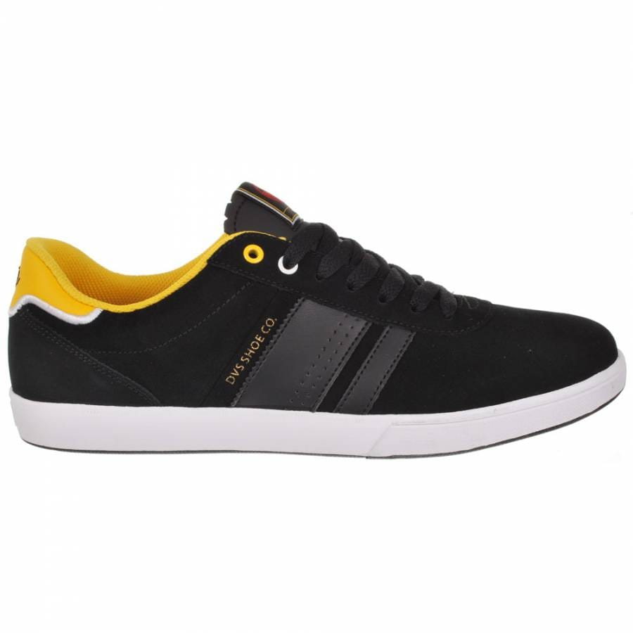dvs brophy black suede cliche skate shoes mens
