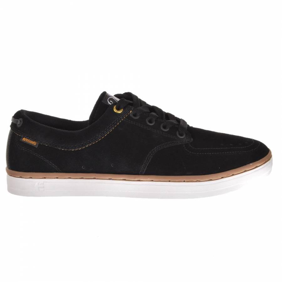 etnies malto 2 black gum skate shoes mens skateboard