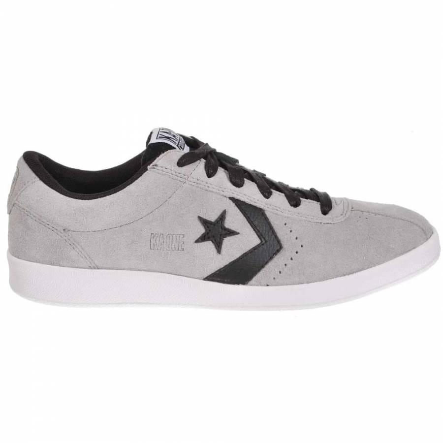 Converse KA-One OX Grey/Black Skate Shoes - Mens ...