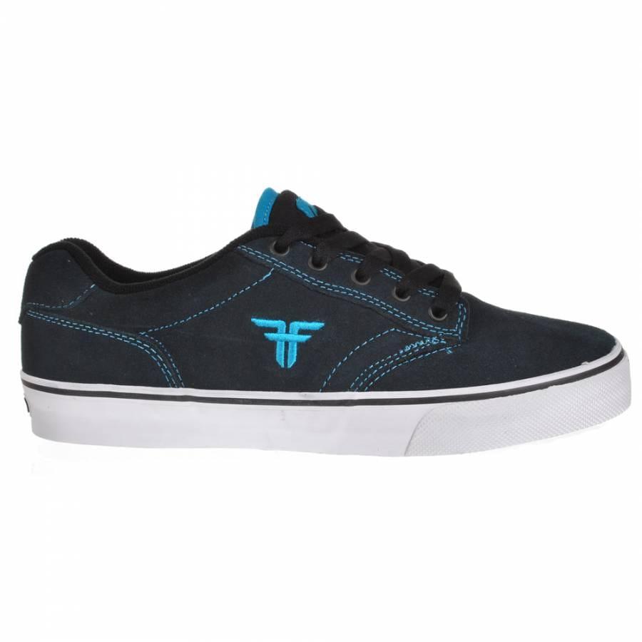 fallen slash obsidian cyan skate shoes mens skateboard