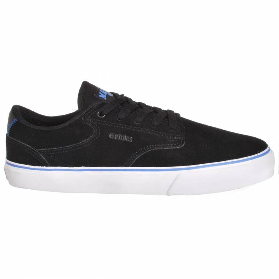 etnies malto ls black blue white skate shoes mens