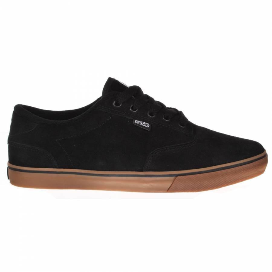 dvs daewon 12er black gum suede skate shoes mens