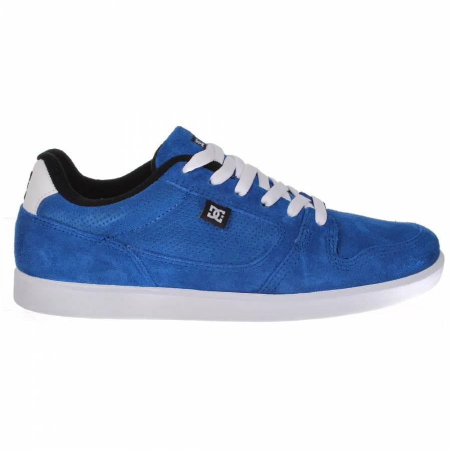 dc landau s royal white skate shoes