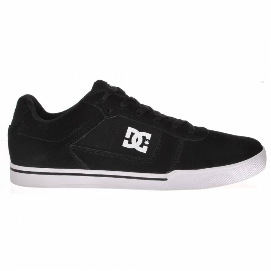 dc cole pro black white gum skate shoes