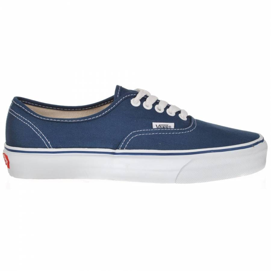 vans authentic navy skate shoes mens skateboard shoes