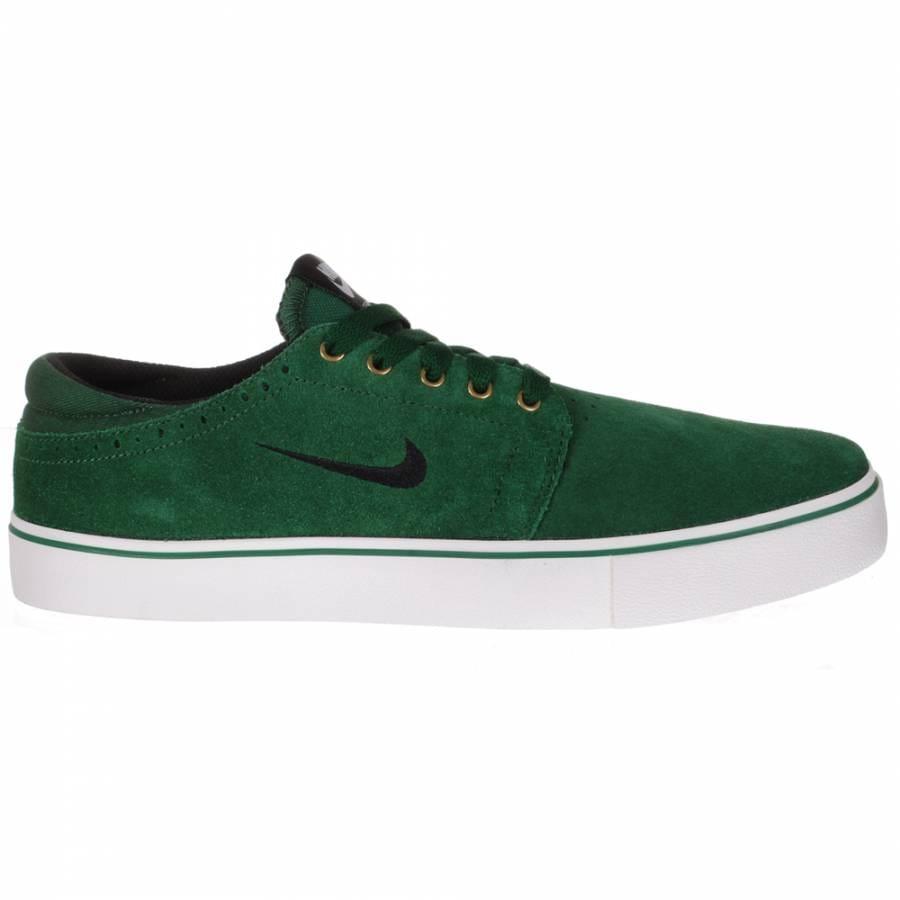 nike sb team edition skate shoes gorge green black white